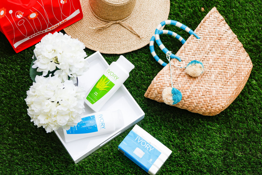 PURE, GENTLE CLEAN, AND READY FOR SUMMER WITH IVORY AND FAMILY DOLLAR