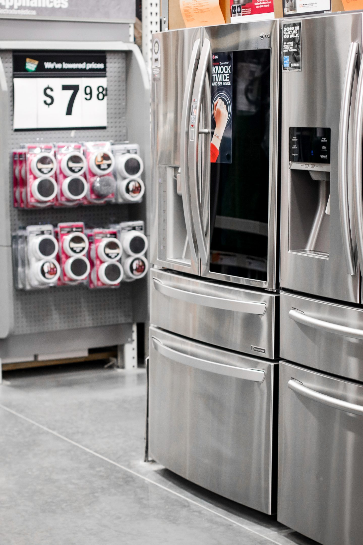 Home Depot appliance make the holiday season fast and easy