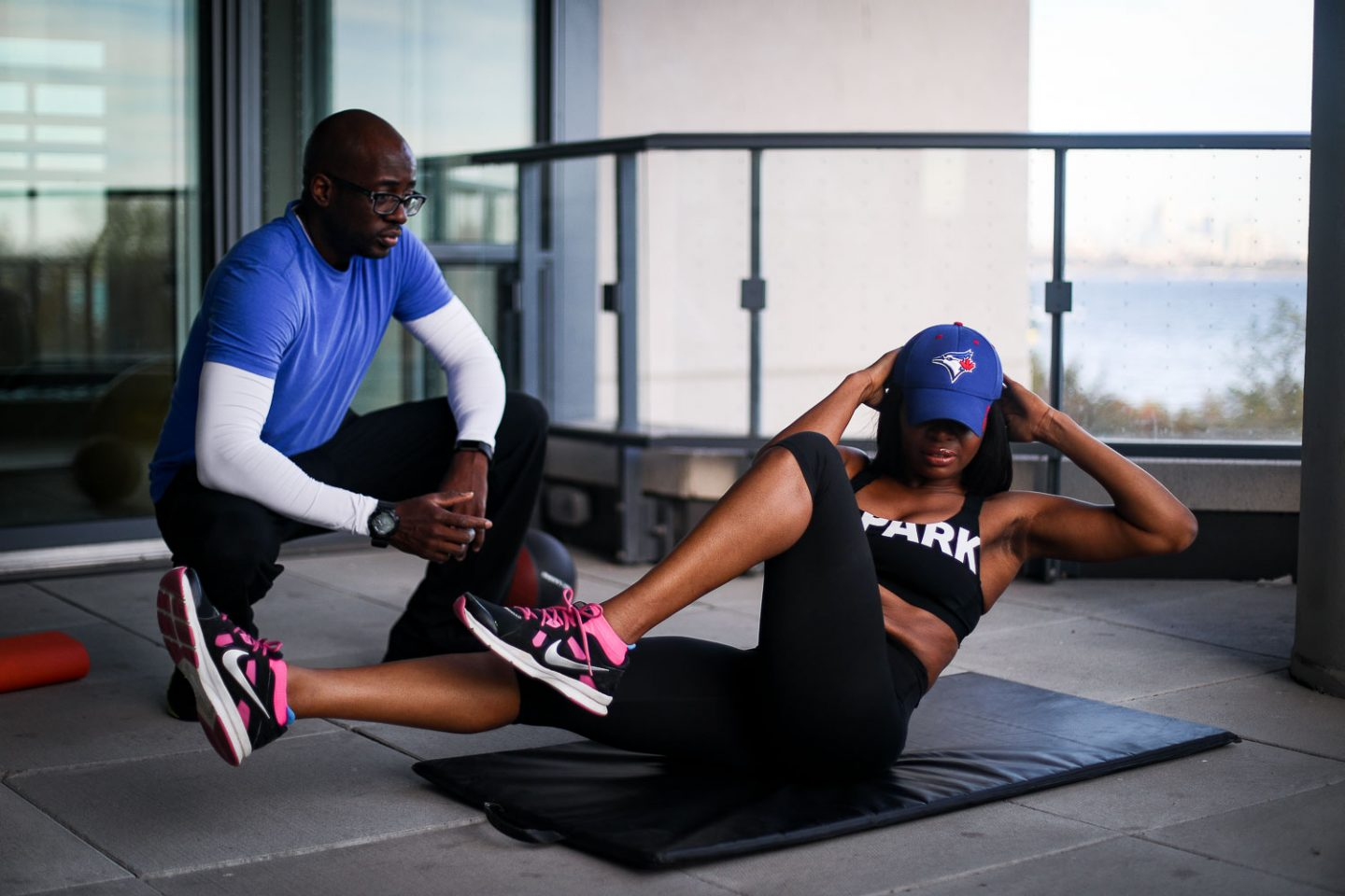 Atlanta blogger Monica Awe-Etuk shows you how to stay fit this holiday season