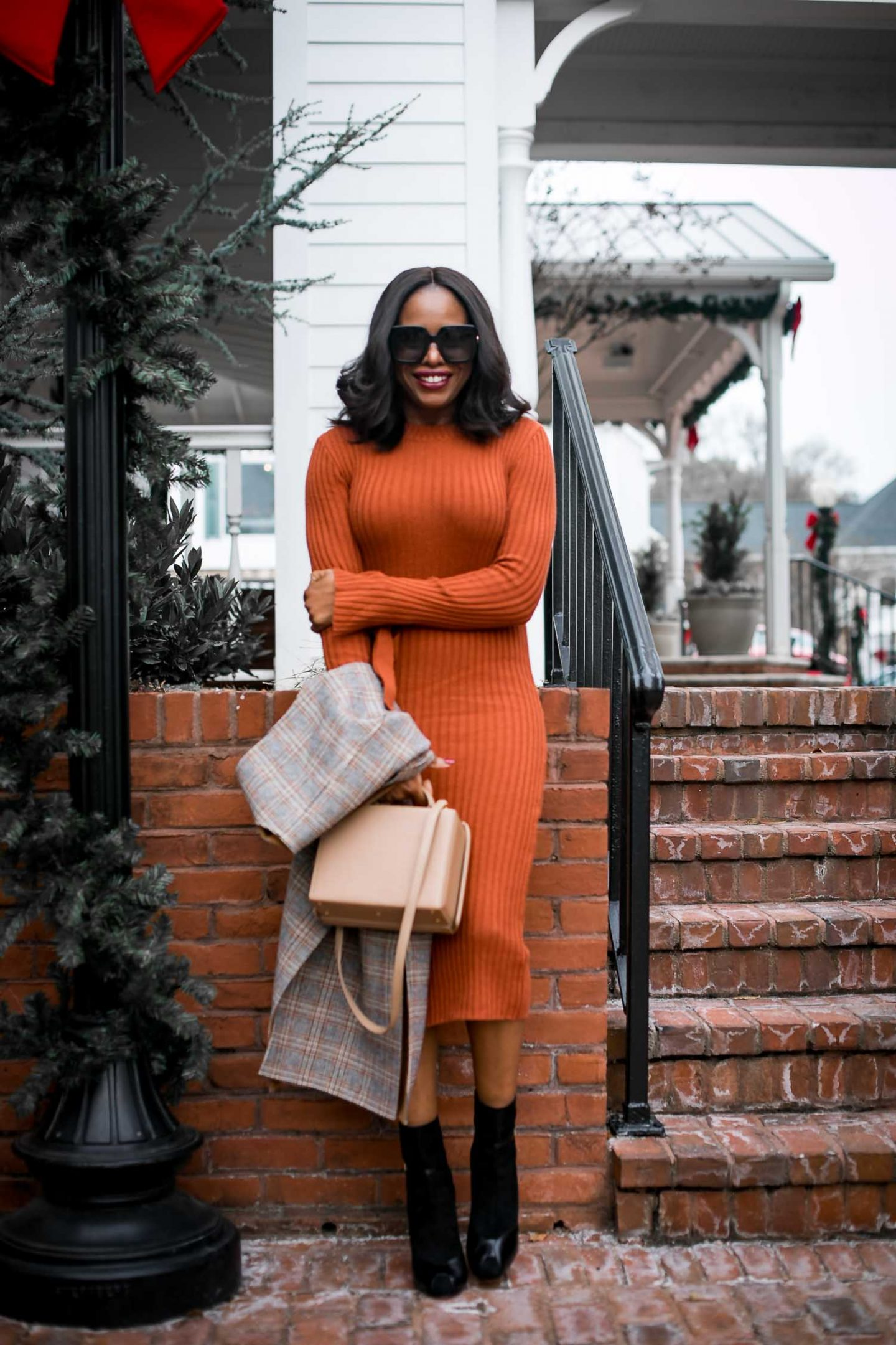 midi knit dresses, how to pick and style the dresses for ...