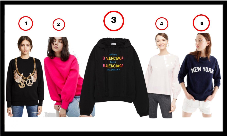 5 must have sweatshirts