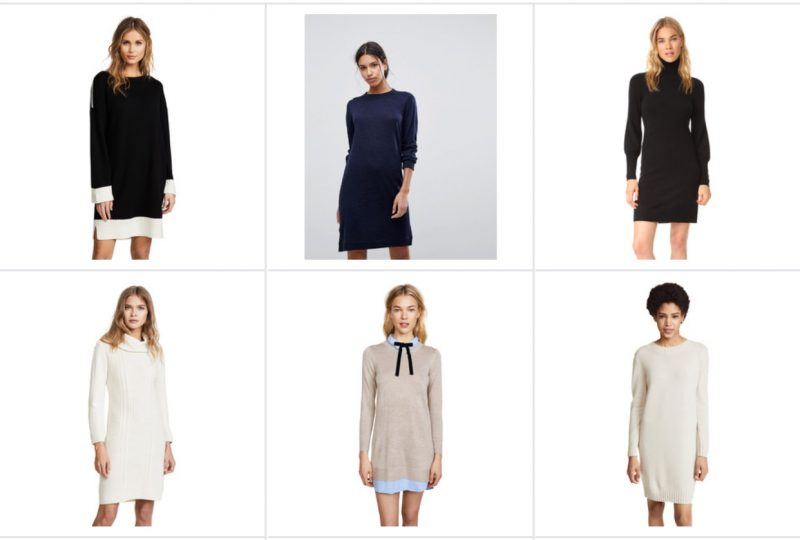 spring sweater dresses