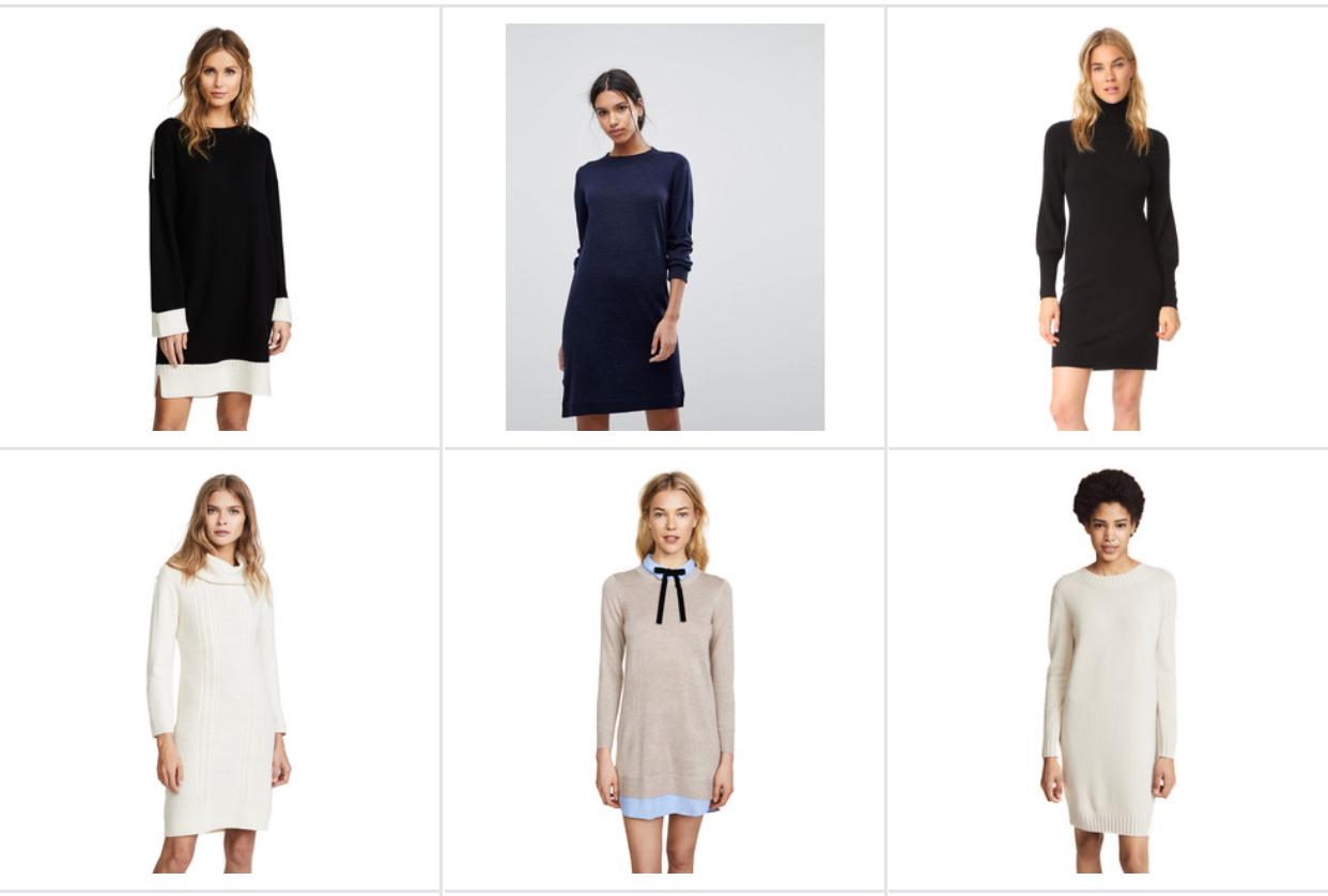 spring sweater dresses