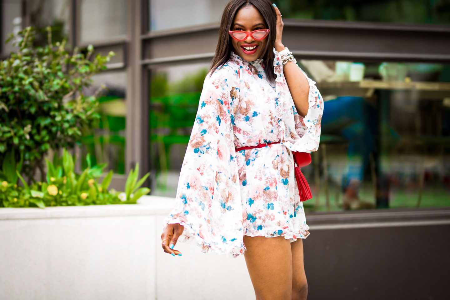 ROCKING ROMPER – HOW TO STYLE A FLORAL ROMPER