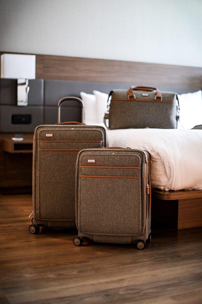 packing tips using Hartmann luggage