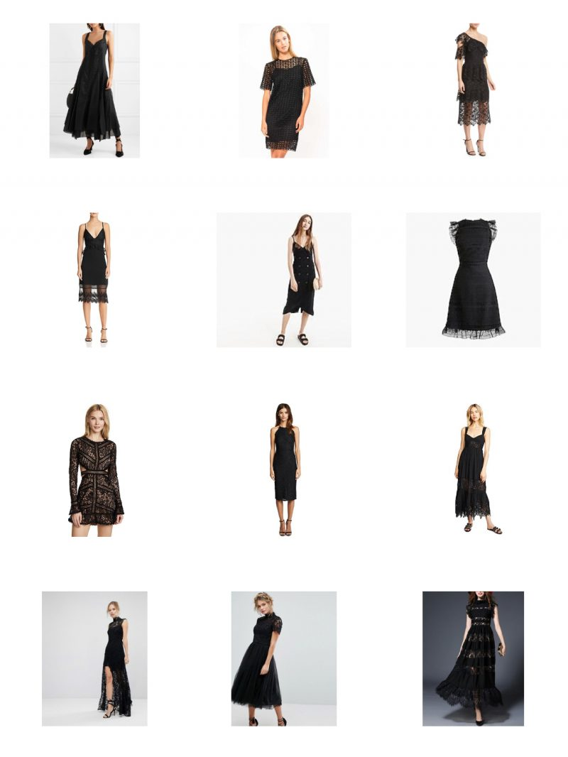 best summer black dresses