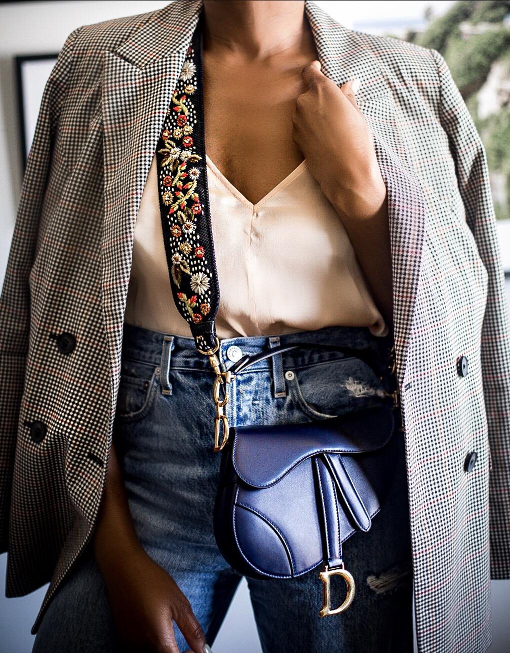 New Dior saddle bag unboxing
