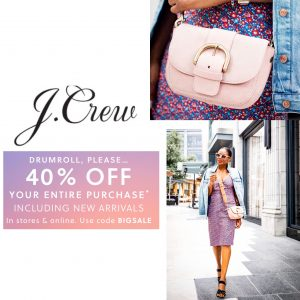 labor day sale discount codes for jcrew
