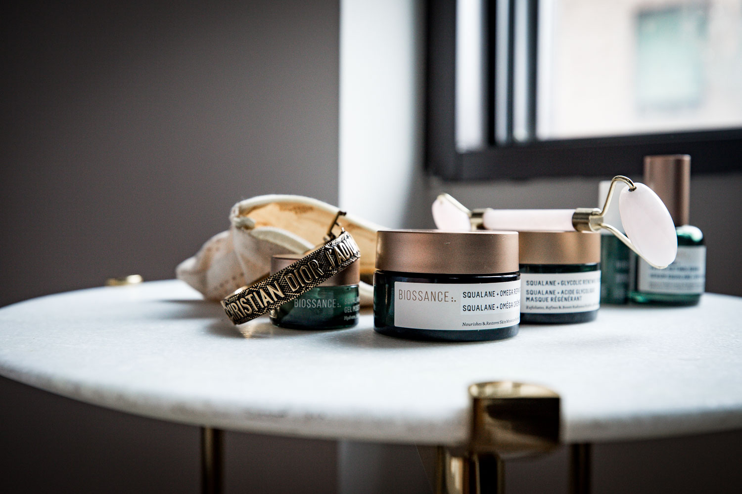 Achieving healthy, beautiful skin with clean skincare products.