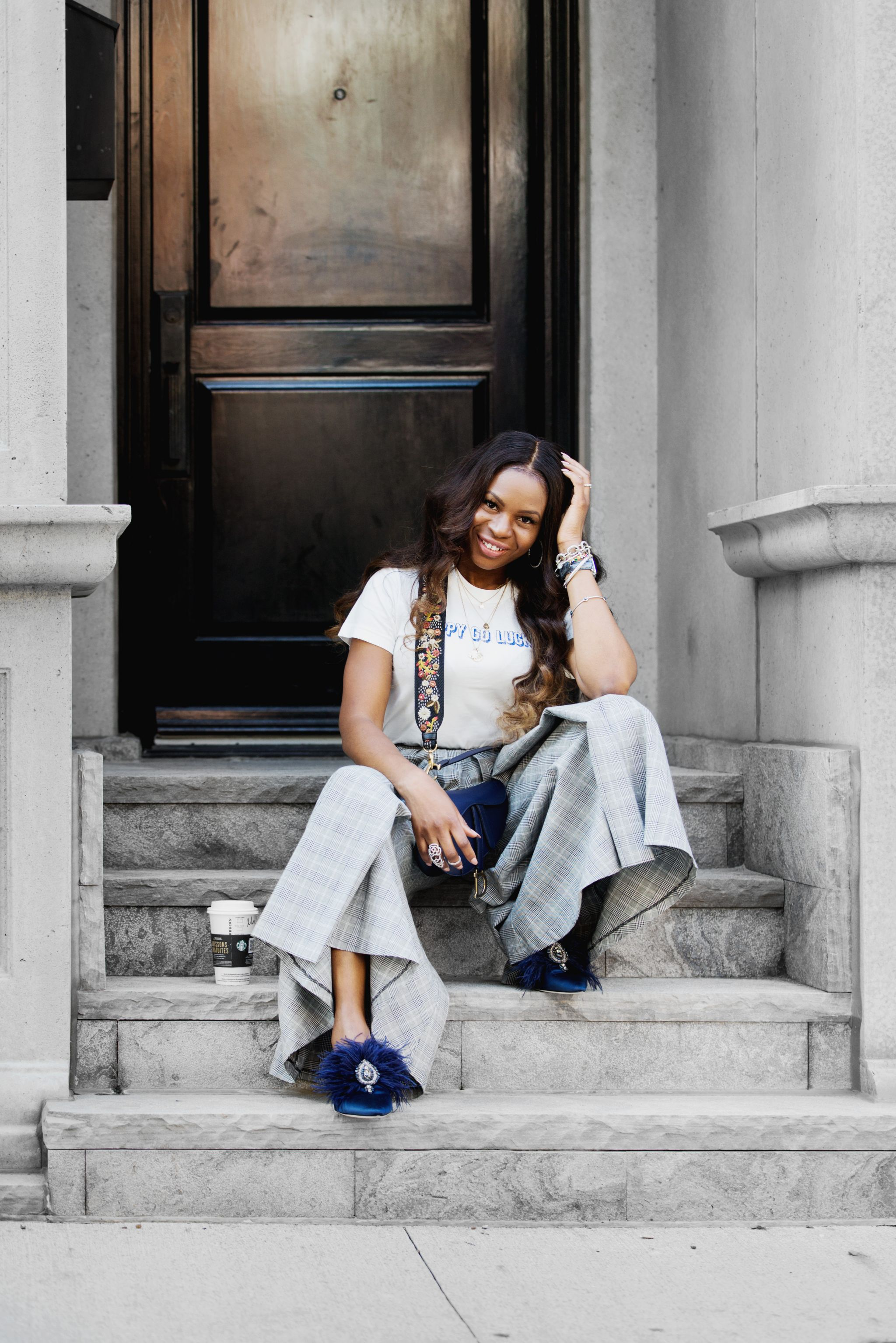 one of Atlanta's most influential fashion bloggers Monica Awe-Etuk