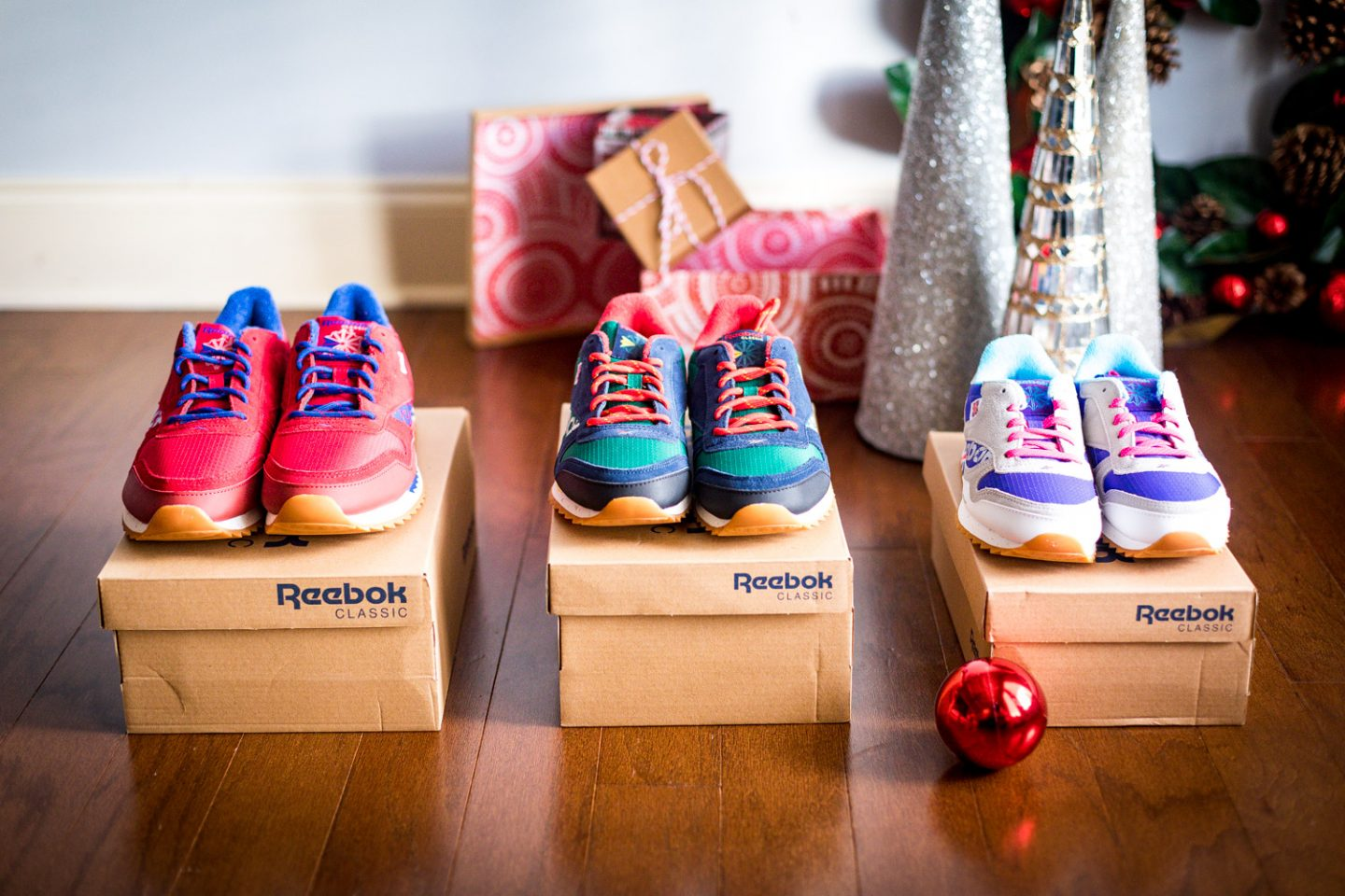 reebok sneakers for the entire family