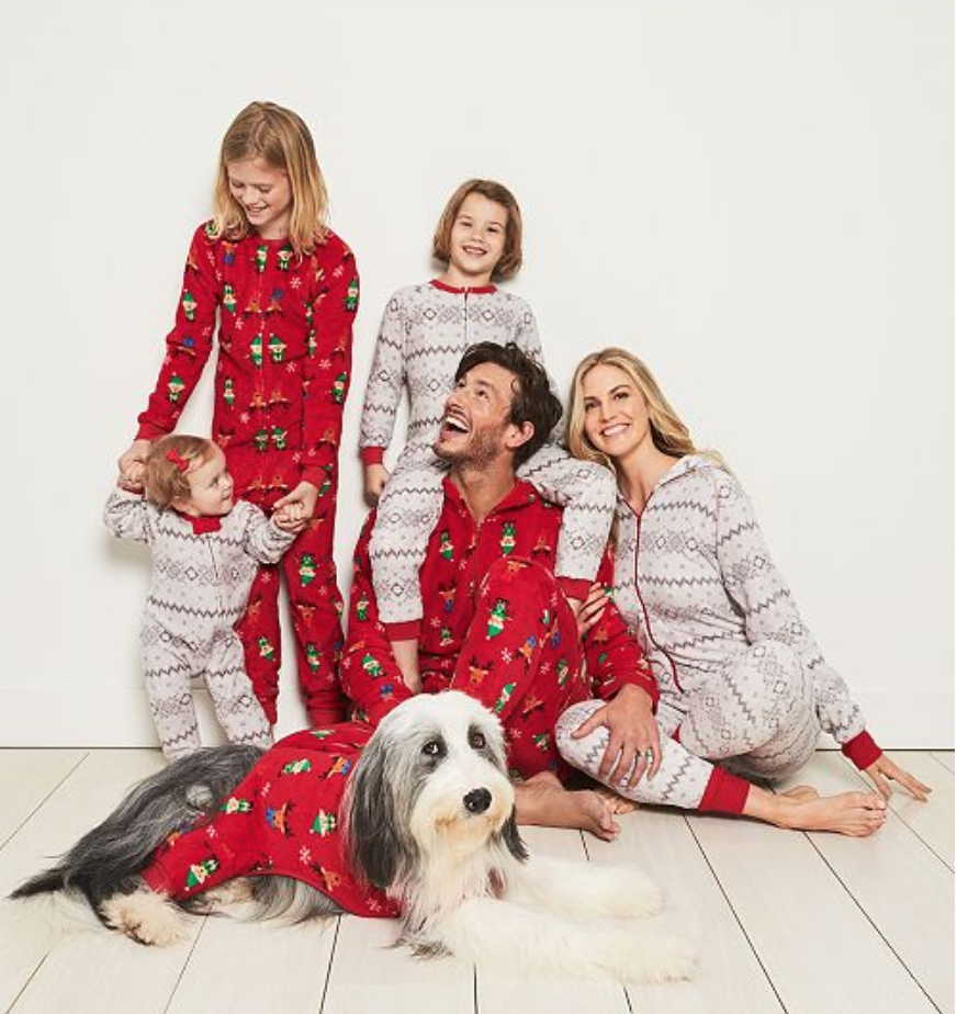 the best family pajama sets for the holiday season