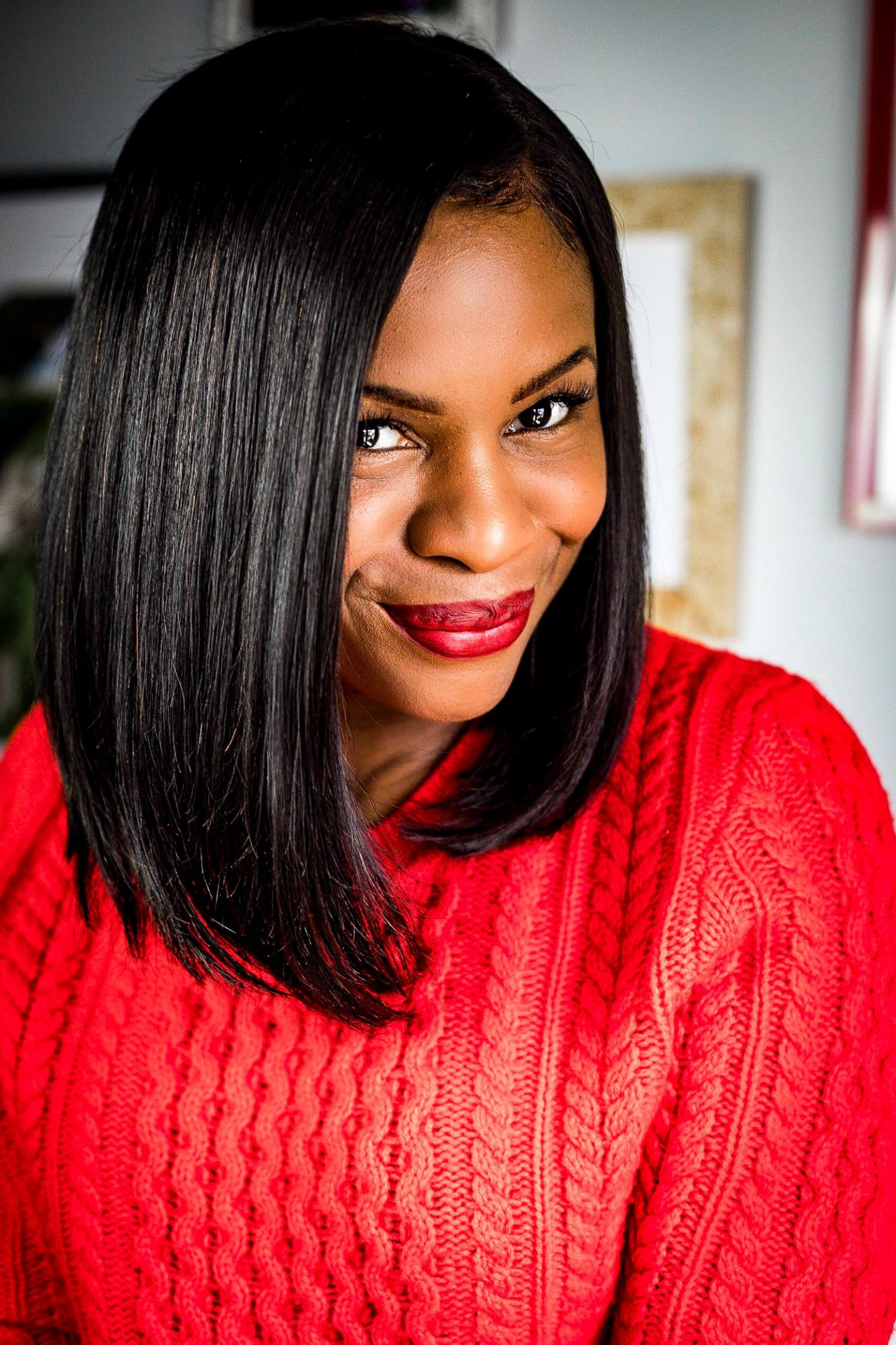 Atlanta lifestyle blogger Monica Awe-Etuk picks the best 3 lipstick colors for valentines day. lipstick application tips and when to wear red, nude and purple lipstick