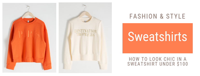 Atlanta fashion blogger shows you the trends you need to wear in 2019. How to look chic in a sweatshirt under $100. sweatshirts are a fashion girl must this season. Here are my favorite sweatshirt under $100.