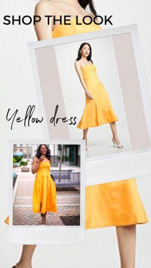 Shopbop sale .Yellow midi dress. Shopbop sale must haves. sale end March 2nd.