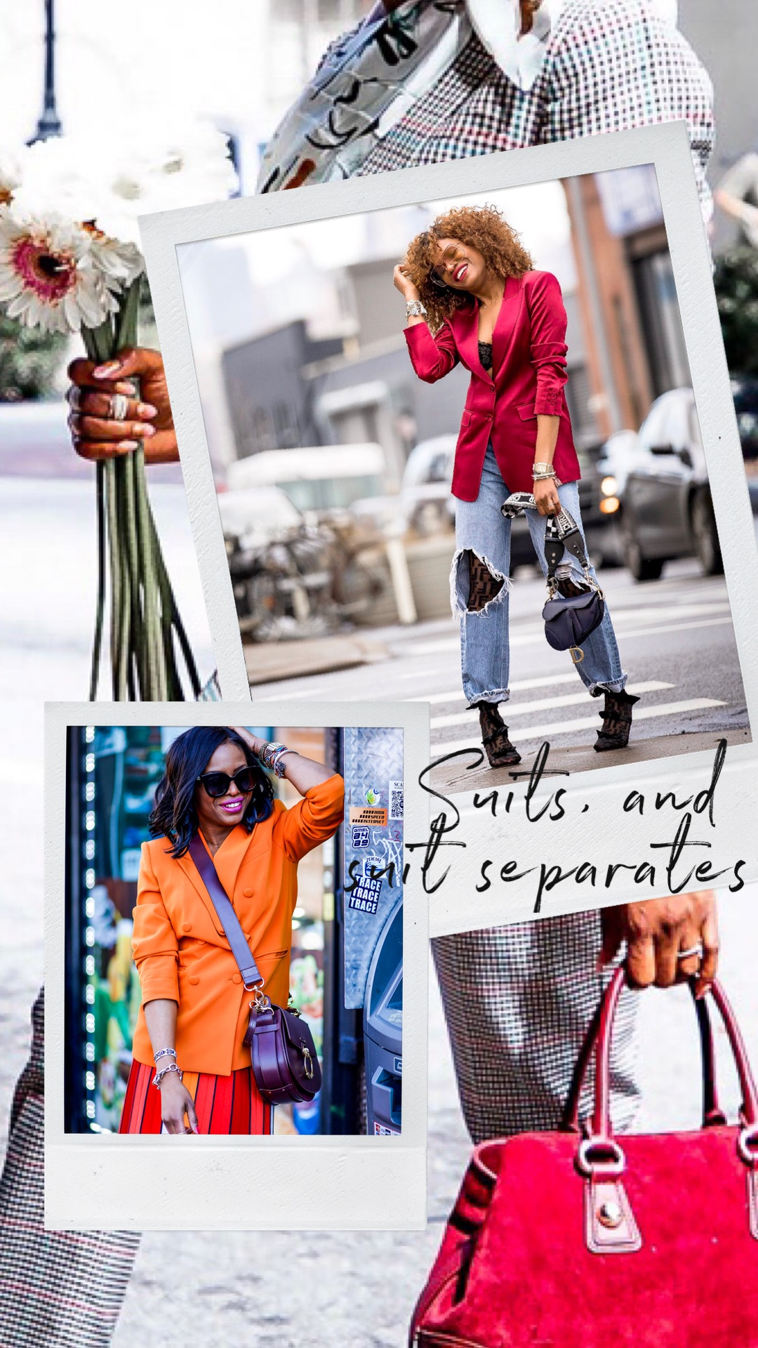 Atlanta blogger Monica Awe-Etuk tells you everything you need to know about the suit trend and how to style suit separates