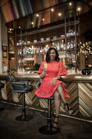 Atlanta blogger Monica Awe-Etuk wearing a keepsake red dress for date night, and explains why a red dress is the best date night dress. The perfect valentines day or date night dress