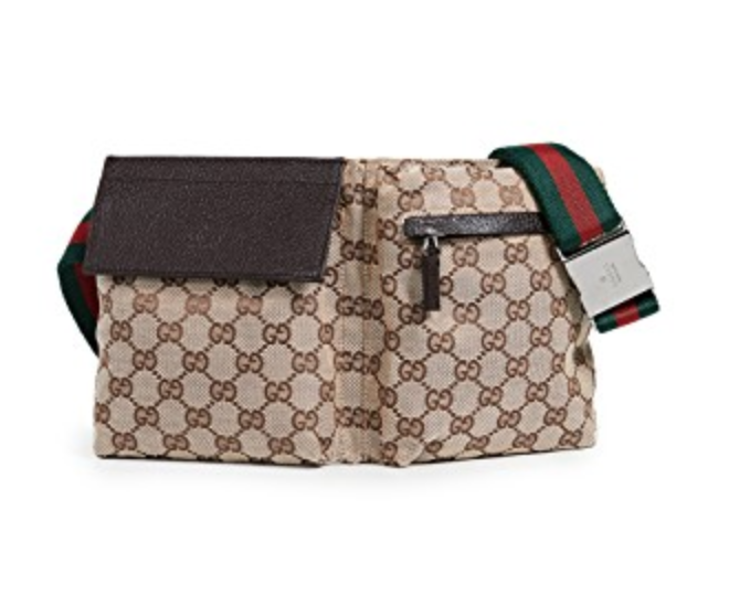 Gucci logo belt bag