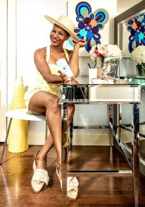 Atlanta blogger Monica Awe-Etuk tries the new Secret Aluminum free deodorant for summer-7