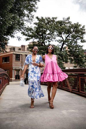 Rejina Pyo doris Sandals , white dress, blue dress, summer dress, mini dress, maxi dress, midi dress,
