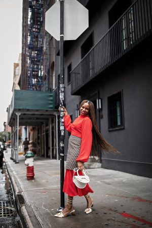 atlanta fashion blogger wearing nigerian designer fia factory and cult gaia shoes during nyfw, statement sleeves, fall trends, fall fashion, what to wear this fall, fall fashion guide, african designers, yuzefi bag, yuzefi, how to style a yuzefi bag, what to wear with a yuzefi bag