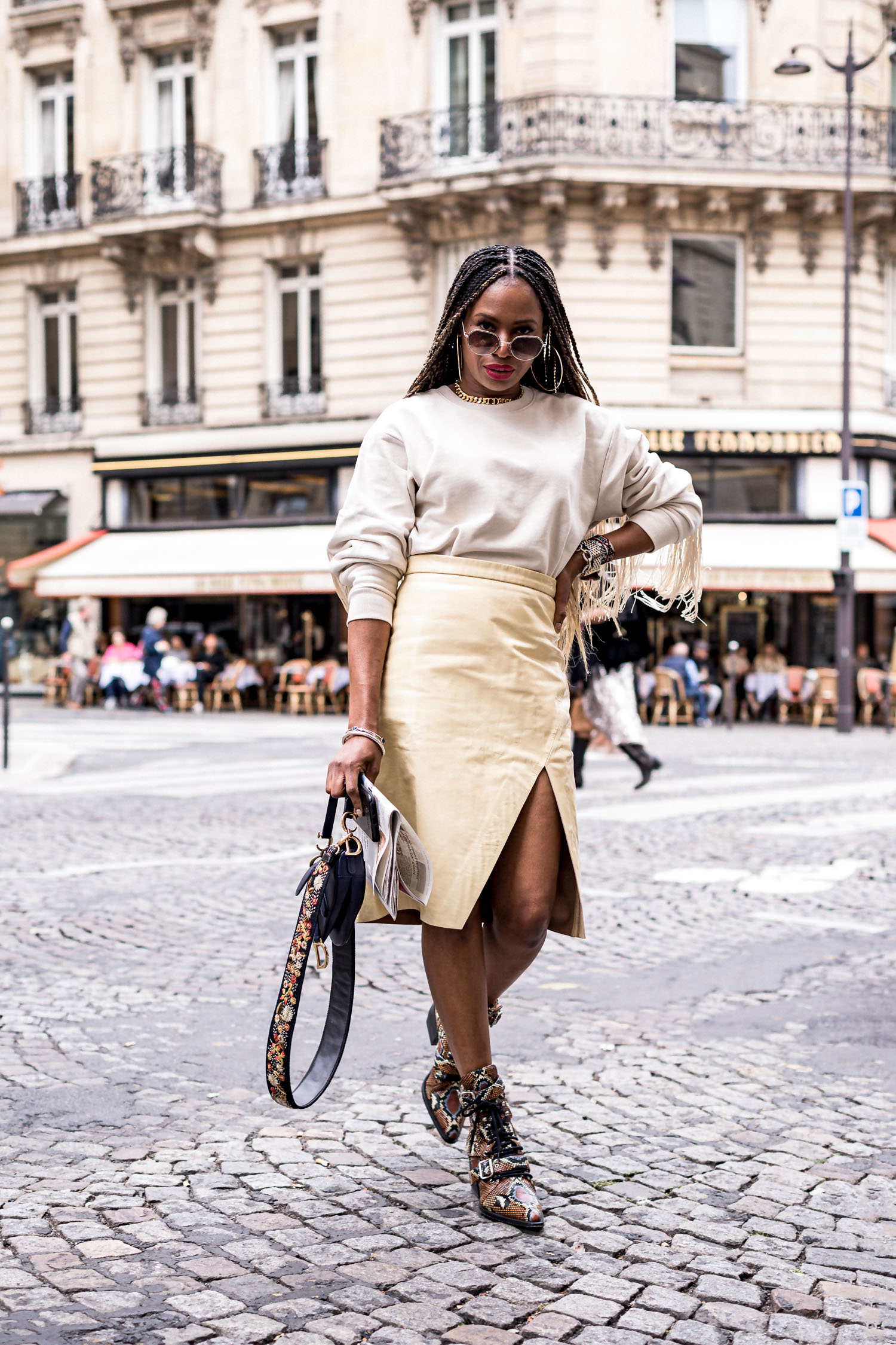 instagram lately, top fashion blogger shares best moments from paris fashion week from instagram