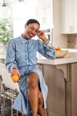 atlanta blogger monica awe-etuk reveals her white kitchen, home tour, white kitchen, how to keep a white kitchen clean, my dream kitchen, kitchen reveal, kitchen tour, white kitchen tour