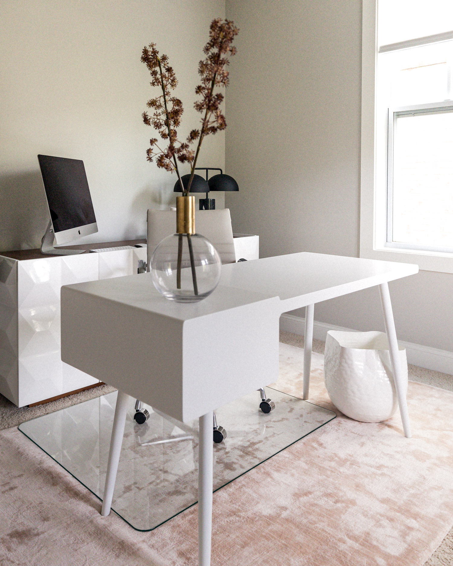atlanta fashion blogger reveals her at home office, work from home, how to create a functional work from home space, how to create a home office, home office tour, home office reveal, wfh