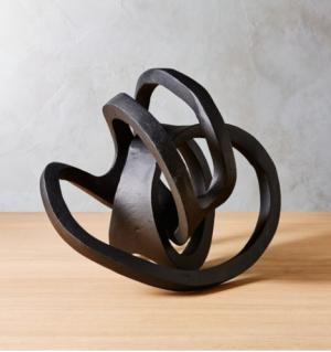 infinity sculpture, home decore