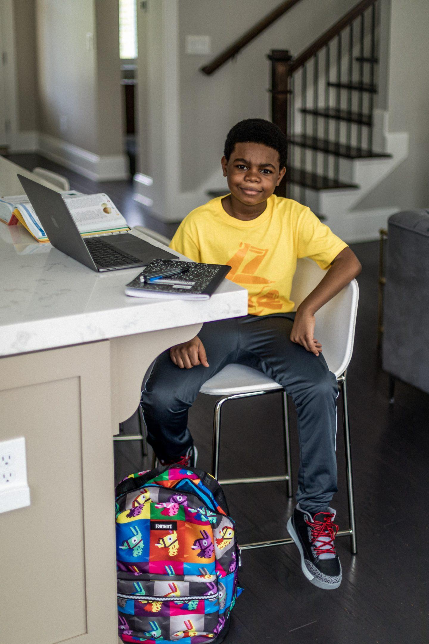 atlanta blogger kids are back to school ready in fashion from walmart, boys fashion, big boys style