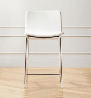 bar stool, chair , white chair