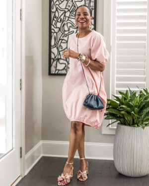 ladyee dress, pink dress, how to style a pink dress for summer, lounge wear, best loungewear for summer, summer fashion