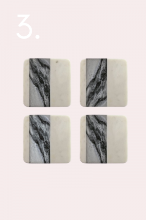 marble coasters, holiday gifts, gifts for the home, gift guide, oil diffuser