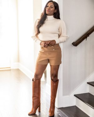 zara sweater, saint laurent boots, how to style western boots,fall sweaters, best fall sweaters, atlanat blogger list best sweaters for fall_