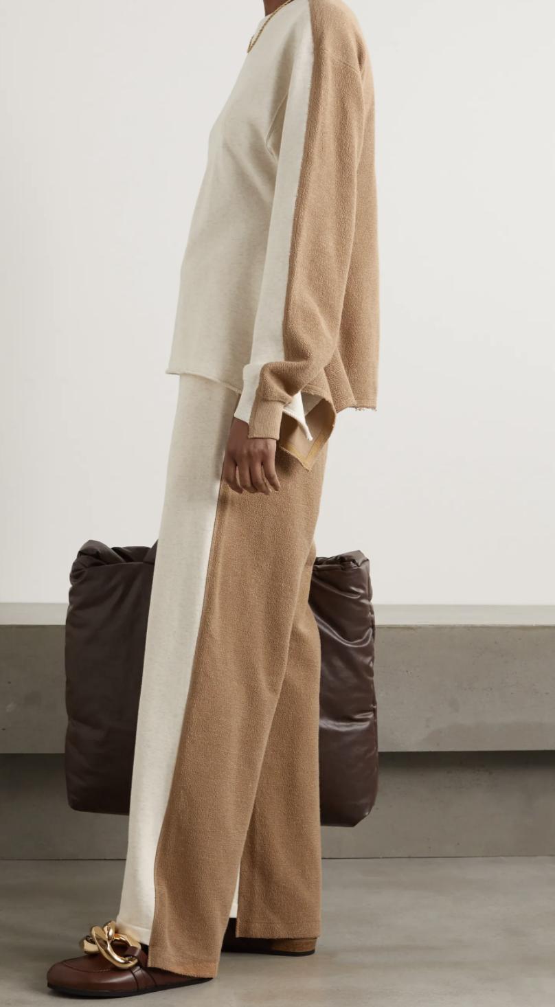 2021 fashion trends, j.w. anderson loungewear, loungewear, elevated loungewear
