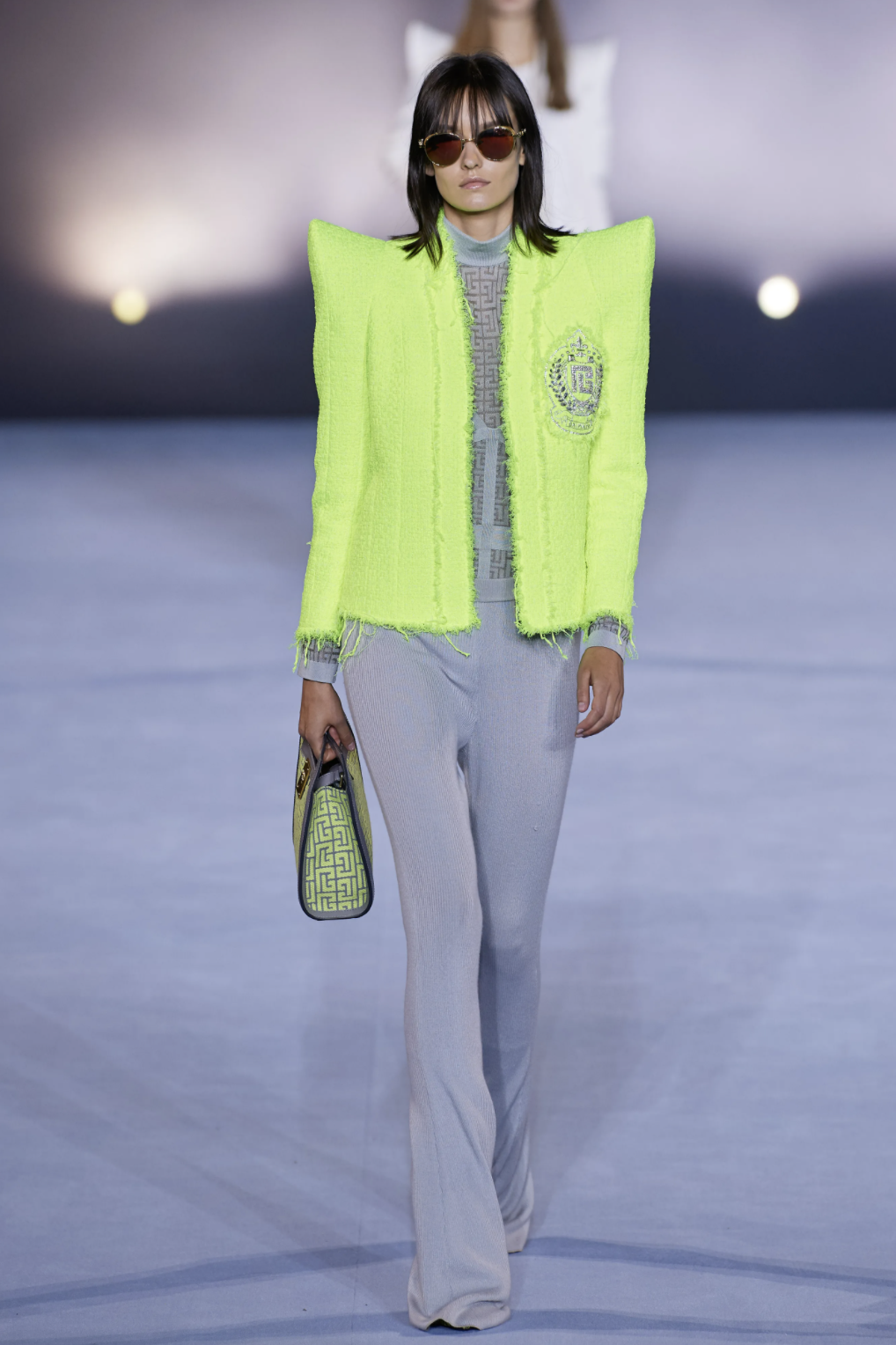fashion trends, extravagant shoulders, padded shoulders,