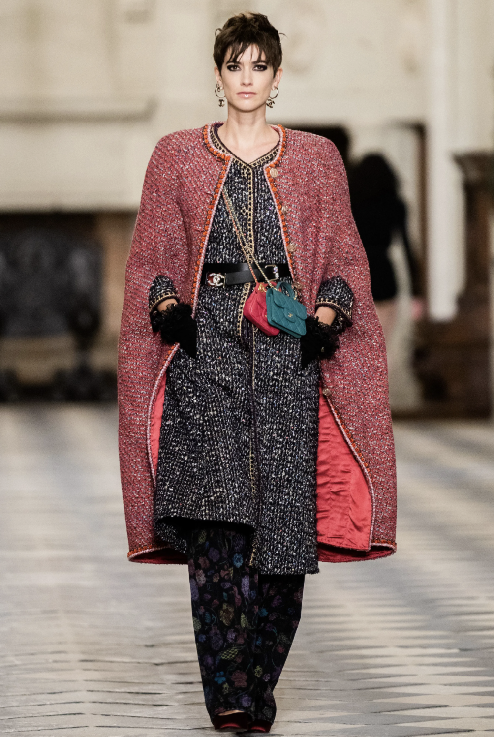 capes, fashion trends, 2021 fashion trends, chanel