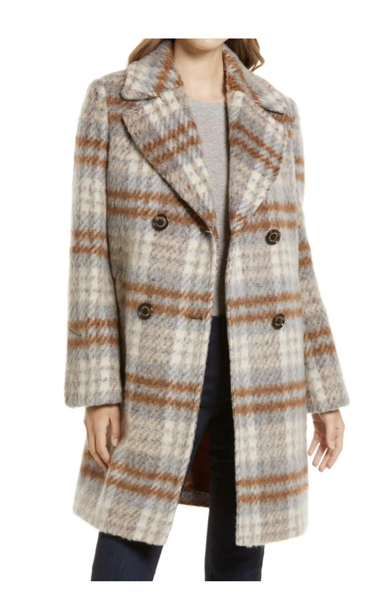 Nordstrom Anniversary Sale, plaid coat, sam elderman