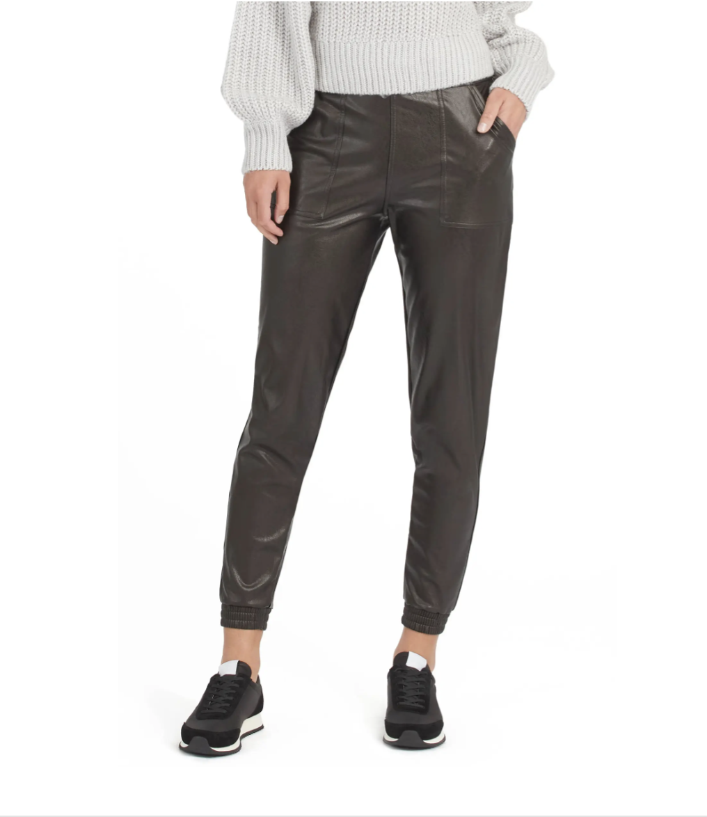 nordstrom anniversary sale, spanx, leather joggers